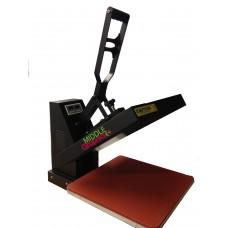 "15 X 15""  Heat Press (Flat ) with Teflon-coated heat element Heavy Duty ( Plus heat transfer paper/HTV start kits)"
