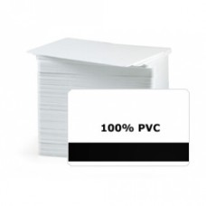 CR80 30Mil PVC Cards with HE 3 tracks Mag. Stripe, Graphic Quality (Pack of 100)
