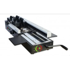 Hot Melt Glue Perfect Binding Machine Flat Bed