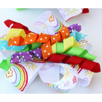 Grosgrain Ribbon Roll w/ multi colour 100yds ( Discount on Bulk Sale )