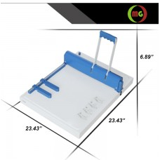 """14"""" Manual Creasing Scoring and Perforating Machine  with Multi Function Heavy Duty 2 in 1 combo"""
