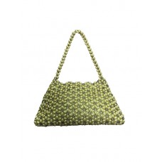 Fashion Beads Bag Limited Editon--Yellow