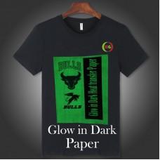 """Glow-in-Dark  Inkjet heat transfer paper 8.5x11"""""""
