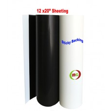 "HTV Coos PU Easyweed Heat Transfer Vinyl w/ sticky backing For T-shirt, Garment etc.-- 12""x20"" / Sheet"
