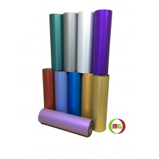 "HTV  Satin Metallic PU Teat transfer Vinyl w/ None Sticky Backing For T-shirt, Garment etc.----20""x1yd or Bulk Sale"