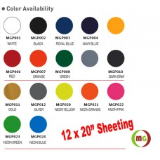 """HTV Coos PU Heat transfer Vinyl  w/ None Sticky Backing Cold / Warm Peel----20"""" x 12"""" /sheet"""