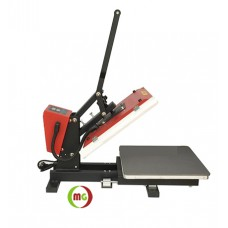"15 X 15"" Heat Press (Flat )  w/ ""Pull-out"" Base Platen / Auto-open clamshell  Subli Transfer 2 Versions"