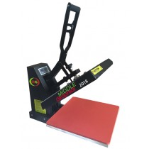 "15 X 15""  Heat Press (Flat ) with Teflon-coated heat element Heavy Duty ( Plus heat transfer paper/HTV start kits)"