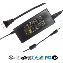 12Volt 1~6 Amp DC Desktop Power Adapter - UL Listed External Switching Power Supply (12/24/36/60/72Watt)