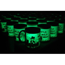 11oz Sublimation Coated Glow-in-Dark Mugs