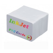 InkJet  Printable  PVC ID Cards  Works with Epson and Canon Inkjet Printers  25pcs