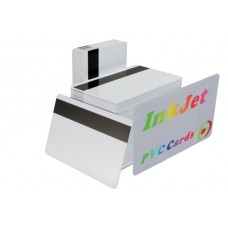 InkJet  Printable  PVC ID Cards with Magnetic Strip 3 Tracks   25pcs/pack