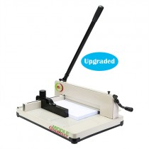 "12""  Manual High-End Guillotine Stack Paper Cutter Armed with Patents"