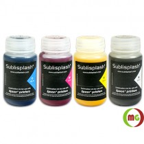 Sublisplash®  Sublimation ink (Y,M,C,K) in 125ml Bottles Set