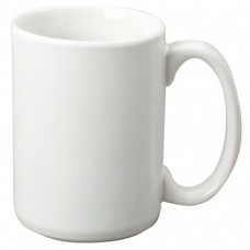15oz Pure White Subli Coated Mugs  36pcs/case