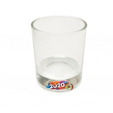 8oz Sublimation Coated  Clear Scotch Whiskey Glass