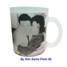 11oz Sublimation Frosted Glass Coated Mugs