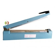 "16"" Impulse Bag Sealer with Aluminum Case Equipped with Copper Transformer,  3mm / 5mm sealing width"