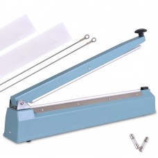 "20"" Impulse Bag Sealer with Antirust Aluminum Base and Equipped with Copper Transformer"
