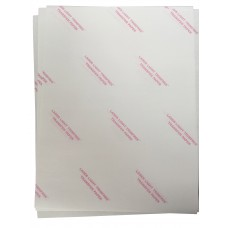 10pcs Laser Trim Free Transfer Paper For Light / White Fabric 8.5x11""